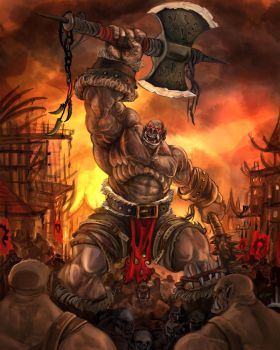 Orc by MattCombsArt