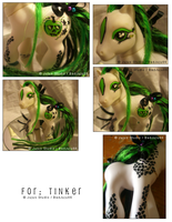 My Lil Dread Pony' Tinker by customlpvalley