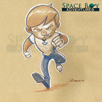Space Boy by WarBrown