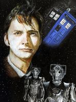 The Tenth Doctor by solman1