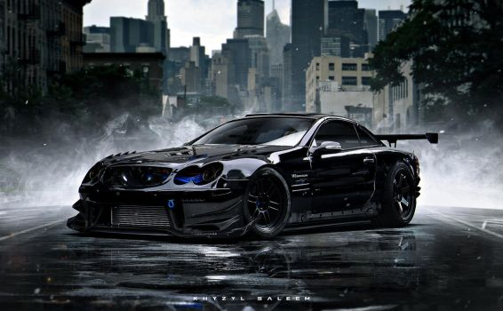 SL55 AMG by The--Kyza