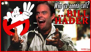 Bill Hader for Ghostbusters 3 by laneamania