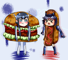 Kill la Kill for kids by TweezersCrab