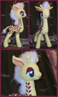 G1 Giraffe Pony Friend - MLP Plushie Contest by thesqueaky