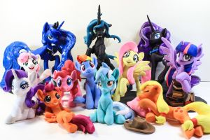Featured  BronyCon 2014 by dustysculptures