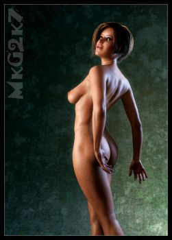 Nude study by MkGrr