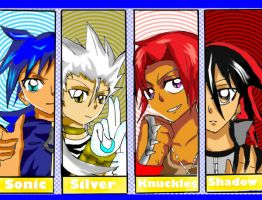 Sonic rivals-human being by Nero-Taichou