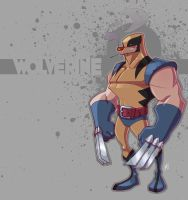 Simple Wolverine by Zatransis