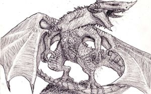 The Awakening of Smaug the Magnificent by Stalc