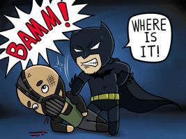 Batman Chibi by Rennis05