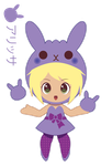 Llama Girl for TDKluver ::GIFT:: by Itachi-Roxas