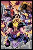 X-Men Colors (CS6 Color Trial) by ironwill-nelson