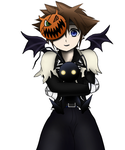 Sora- Happy Halloween! by NekoKyandiChan