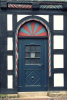 Candy Cane Door by cailleachdhubh