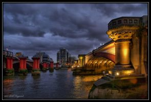 Blackfriars Bridge London by mym8rick