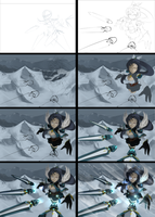 Snowstorm Process by Dicex012