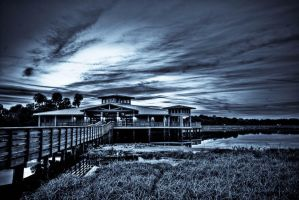 Nature Center Evening by QNetX