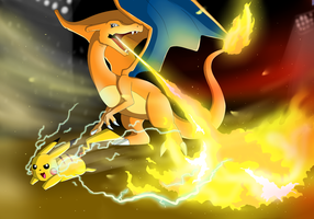 Firestorm by IcelectricSpyro