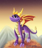 Classic Spyro the Dragon by Janziu