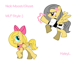 Nicki Moost/Ghost MLP style by trujayy