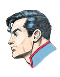 Superman  by Fnkny marker style colors by kurt5494