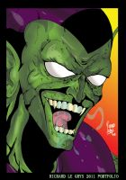 green goblin by ricardo1982