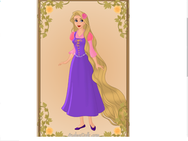 Rapunzel from Tangled by keb17