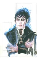 A Portrait of Barnabas Collins by Onieros357