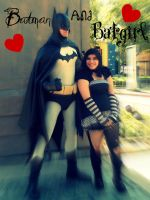 Batman and Batgirl by VampirAlexandraLemon