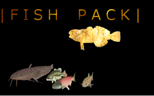 Fish Mesh Pack | FeralHeart by giddyfox