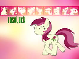 Roseluck Wallpaper by phasingirl