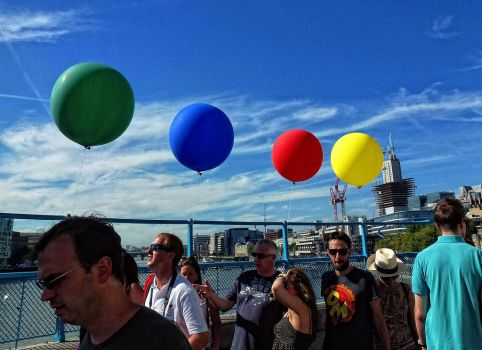 balloons by awjay