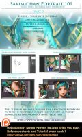 Portrait 101 Part 2 Voice over Workshop Tutorial by sakimichan