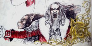 Cornell, Lord of the Lycans by Rhafiel