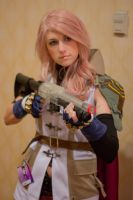 Lightning with Shotgun by Idontevencosplay