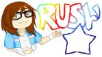 Rushi logo by Rushi-Paesu
