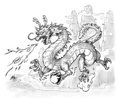 Wu Xing: Dragon by Oshouki
