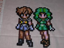 Sailor Uranus and Neptune by TailzFlyhight