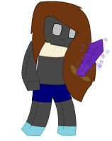 Slevicon me as minecrafter by Coolpandagirl