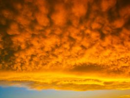 Sky after a storm II. by Alena-G-Photography