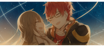 Mystic Messenger: 707 and MC by batensan