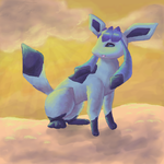 Glaceon by Umbrygon