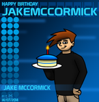 Happy Birthday JakeMcCormick 2014 by BluebottleFlyer
