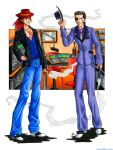 Axel and Xigbar - Gangsters by psycrowe