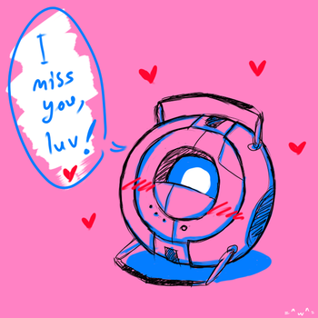 Portal 2 : I miss you, luv! by shykasumi5