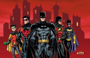 batman family colors by diecast75