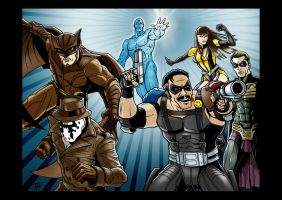 The Watchmen by Tim4