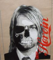 Kurt Cobain 'Enjoy Heroin' by 10baron10