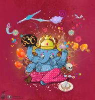 Ganesha by archanN