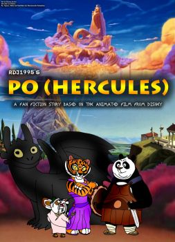 Po (Hercules) Poster by RDJ1995